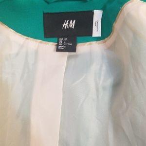 H&M Jackets & Coats - H&M green blazer. Size 4